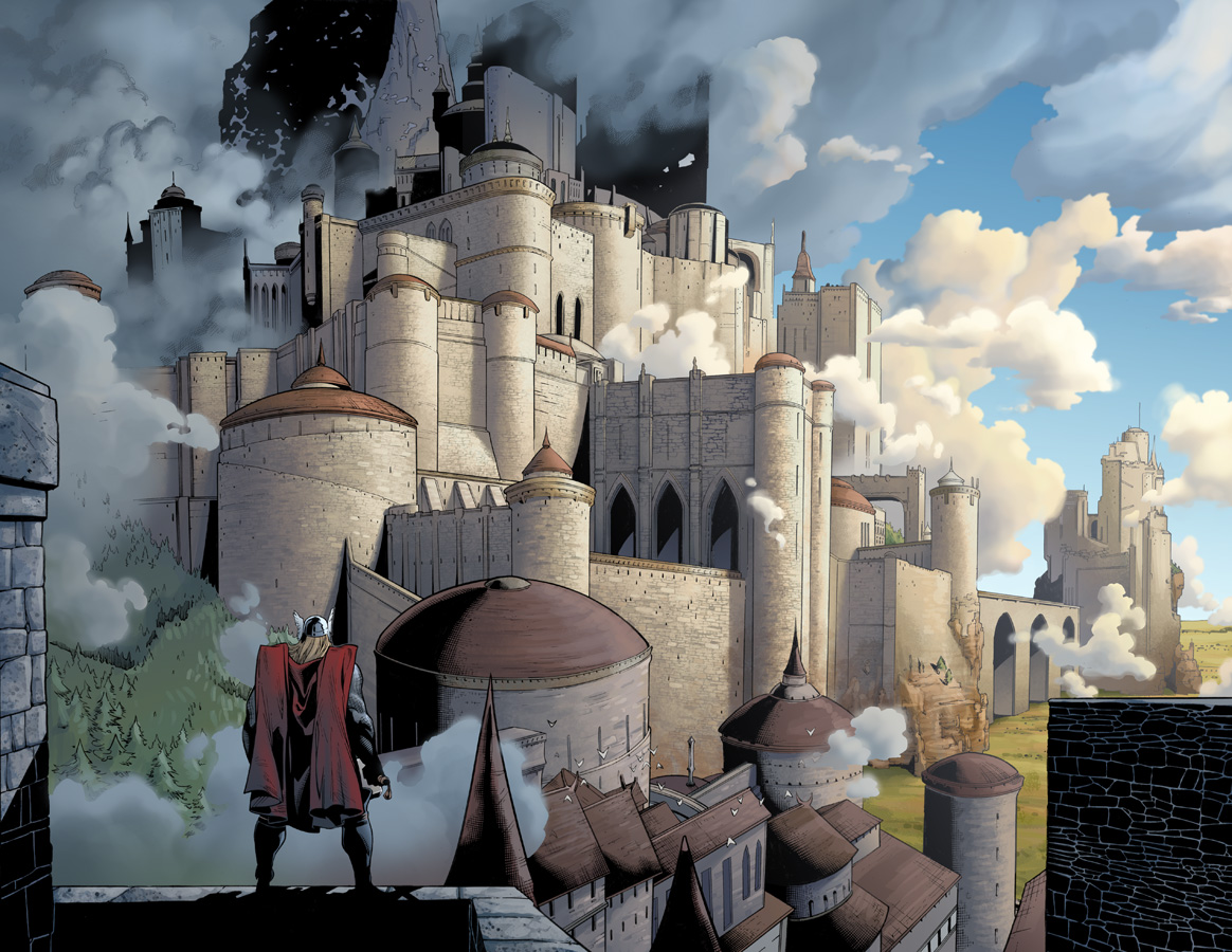 Legends of the WorldAsgard Norse